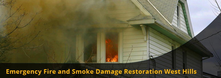 Emergency Fire and Smoke Damage West Hills CA